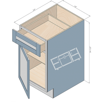 base cabinet b18-2