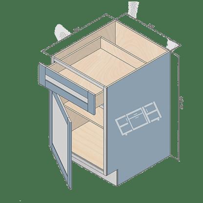 base cabinet b24-2