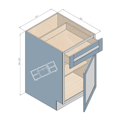 base cabinet b21