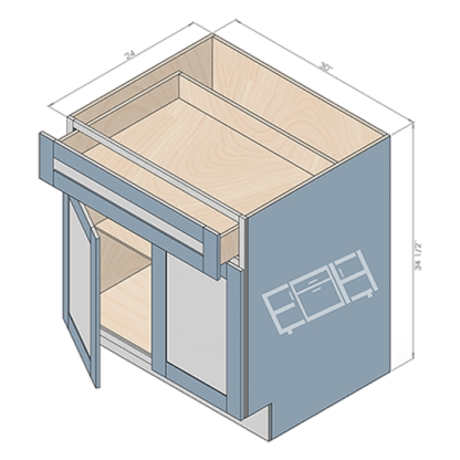base cabinet b30-2