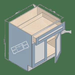 base cabinet b30