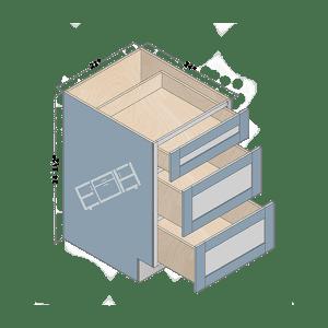 base cabinet db21