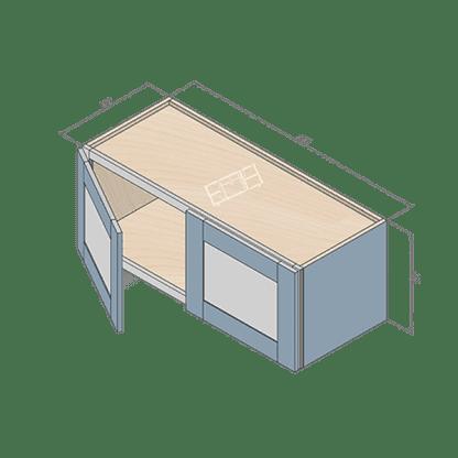 wall cabinet w3012-2