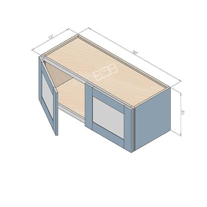 wall cabinet w3312-2