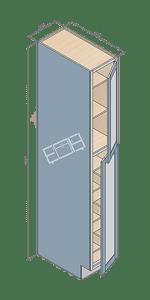 wall pantry wp128424