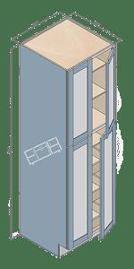 wall pantry wp248424